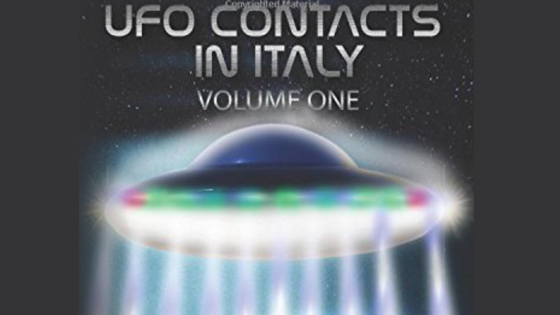 AVISTAMIENTOS OVNI DESDE 1907 EN ITALIA- Un nuevo libro para los amantes de la Ufología