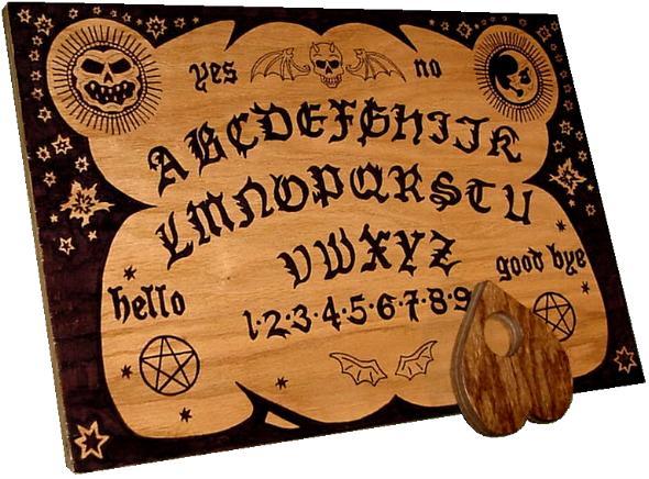 English Ouija Board, Planeta Incógnito