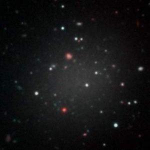 Descubierta una galaxia sin materia oscura que cuestiona las teorías sobre la evolución del Universo