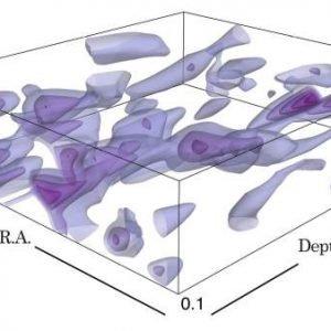 Este es el mapa de la materia oscura más amplio y nítido hasta la fecha