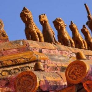 Hallan restos de un palacio de hace 800 años en obras para la Villa Olímpica de Pekín