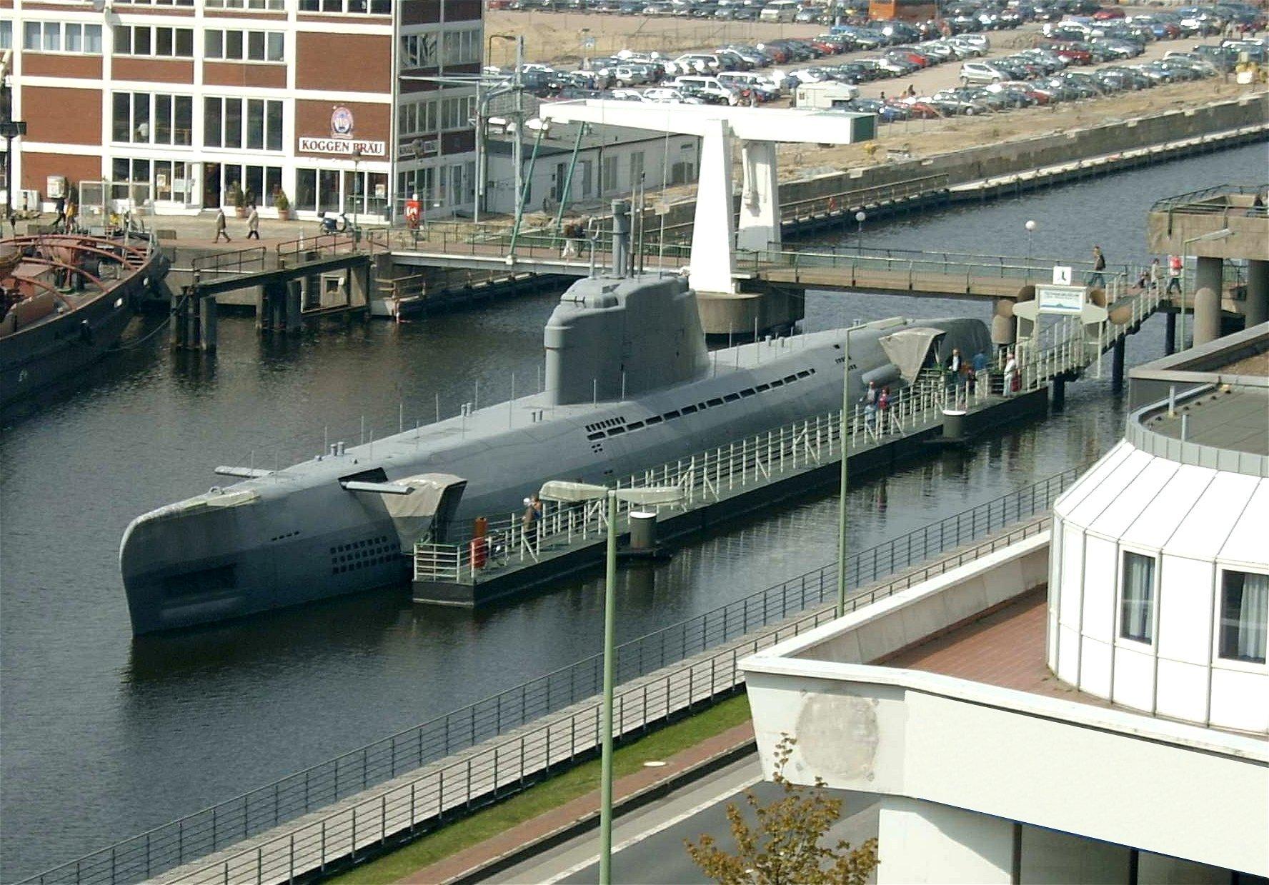 2004 Bremerhaven U Boot Museum Sicherlich Retouched, Planeta Incógnito
