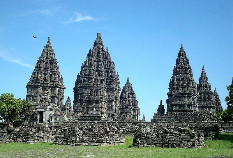 Prambanan siglo IX Java WIKIMEDIA