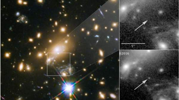 El Telescopio Hubble Detecta La Estrella Mas Lejana Jamas Observada, Planeta Incógnito