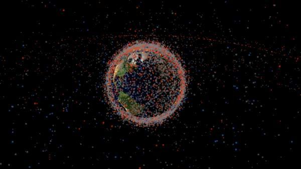Esta Es Toda La Basura Espacial Que Orbita La Tierra, Planeta Incógnito