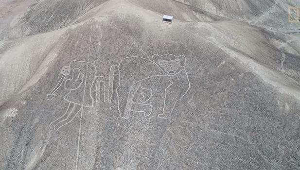 Hallan decenas de nuevas líneas y figuras en Nazca, Perú