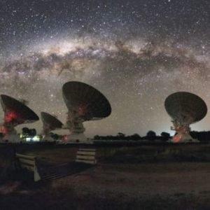La Vía Láctea se agranda lentamente, a 500 metros por segundo
