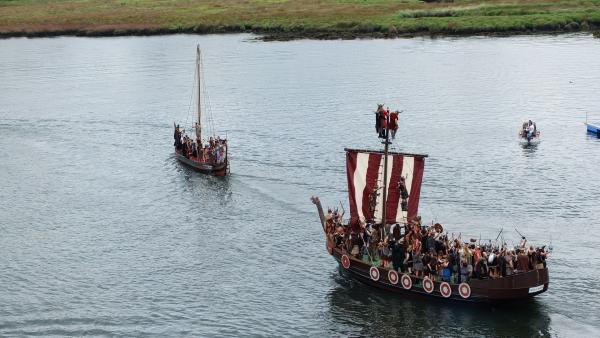 Un adolescente de 13 años conduce a los arqueólogos a un tesoro vikingo