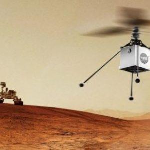 La NASA planea enviar un helicóptero a Marte en 2020
