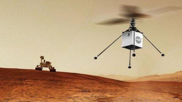 La NASA planea enviar un helicóptero a Marte en 2020 1
