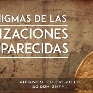 4×26 LOS ENIGMAS DE LAS CIVILIZACIONES DESAPARECIDAS