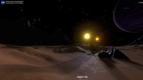 Ya puedes hacer viajes virtuales a otros mundos fuera del sistema solar