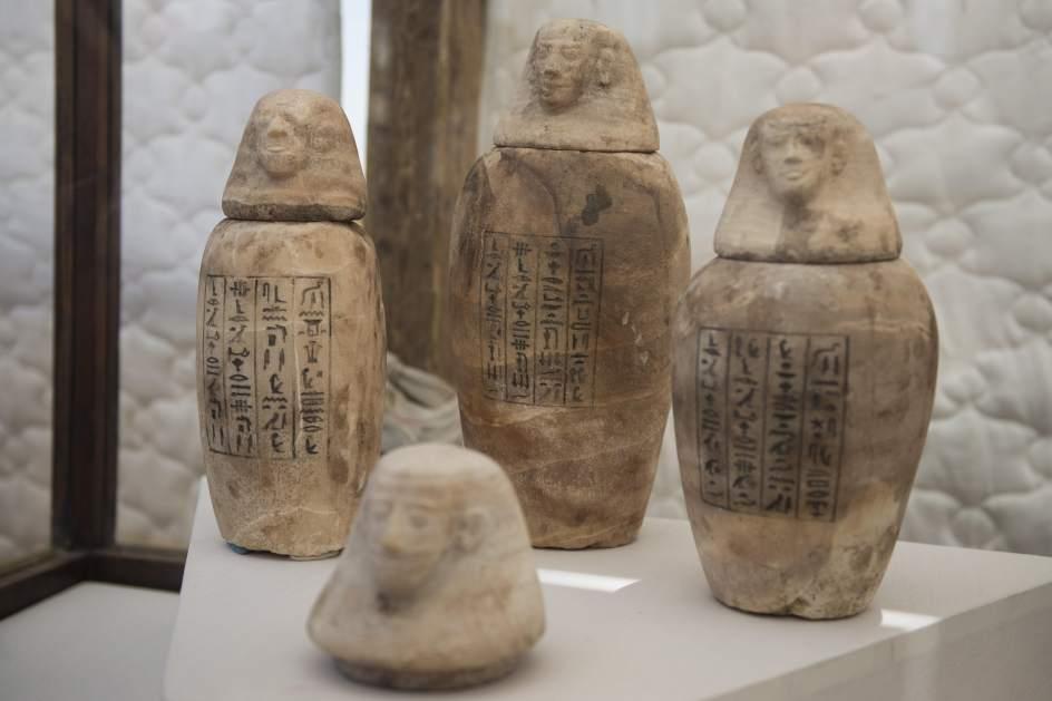 Una torre de 2.500 años, clave para estudiar cómo momificaban a los faraones en el Antiguo Egipto 1