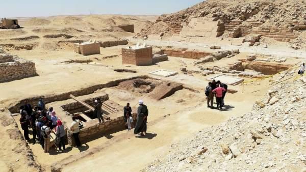 Una Torre De 2 500 Anos Clave Para Estudiar Como Momificaban A Los Faraones En El Antiguo Egipto, Planeta Incógnito