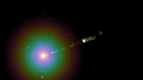 Descubren Las Causas Del Aparente Desplazamiento De Un Agujero Negro Supermasivo, Planeta Incógnito