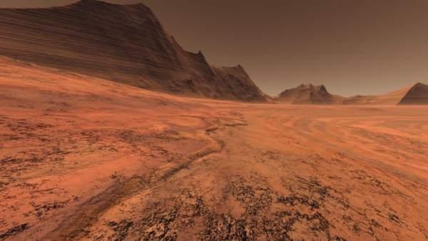 Llanura de Marte