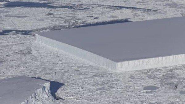 Que Es Ese Bloque De Hielo Perfectamente Cuadrado Que Flota Sobre La Antartida, Planeta Incógnito