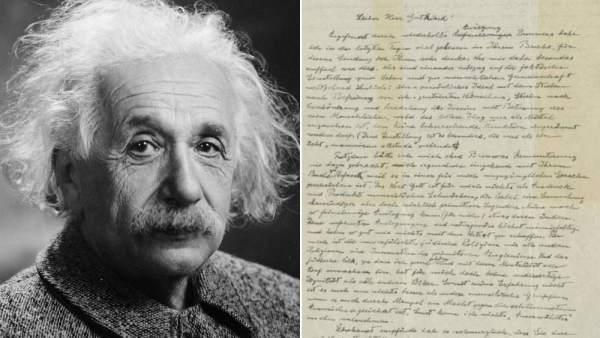 Sale A Subasta La Carta De Dios Escrita Por Einstein Por 13 Millones De Euros, Planeta Incógnito