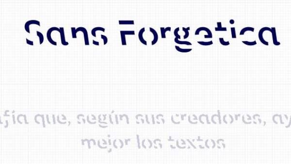 Sans Forgetica La Nueva Tipografia Que Te Ayuda A Recordar Mejor Lo Que Lees, Planeta Incógnito