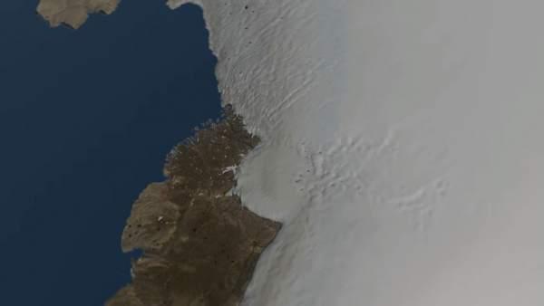 Descubren Bajo El Hielo De Groenlandia Uno De Los Mayores Crateres Del Planeta, Planeta Incógnito