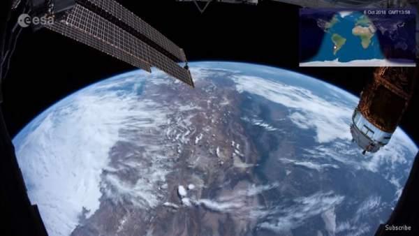 La Agencia Espacial Europea difunde el vídeo 'time-lapse' continuo más largo desde el espacio