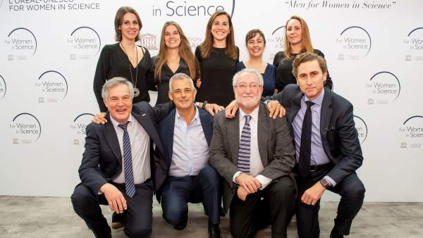 Liga de científicos masculita 'Men for Women for Science'