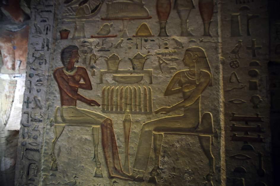 """Hallan en Egipto una tumba """"única"""" de 4.400 años de antigüedad 1"""