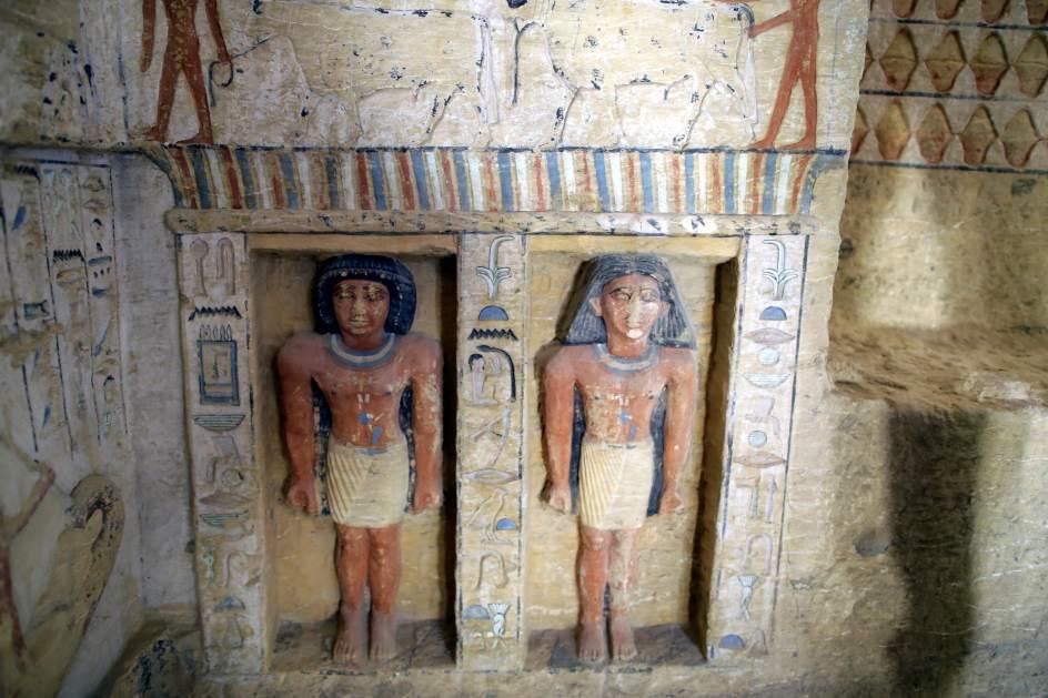 """Hallan en Egipto una tumba """"única"""" de 4.400 años de antigüedad 2"""