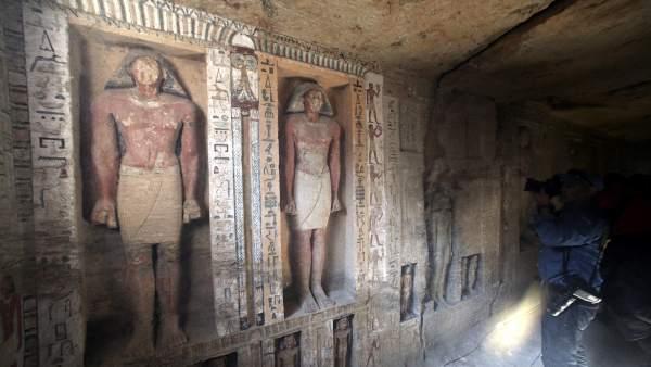"""Una tumba """"única"""" en Egipto"""