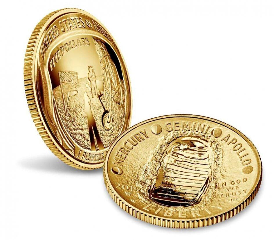 La Nasa Lanza Cuatro Monedas Conmemorativas De Los 50 Anos De La Llegada Del Hombre A La Luna 1, Planeta Incógnito