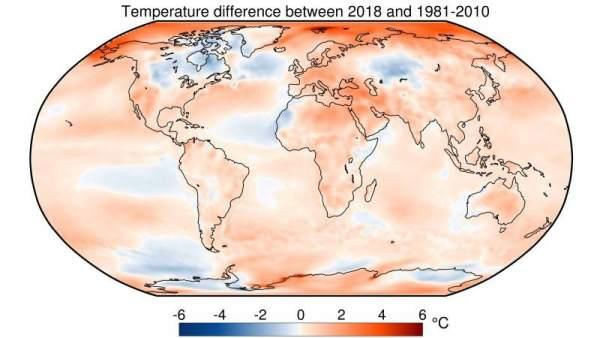 Los Ultimos Cuatro Anos Fueron Los Mas Calurosos Jamas Registrados En La Tierra, Planeta Incógnito