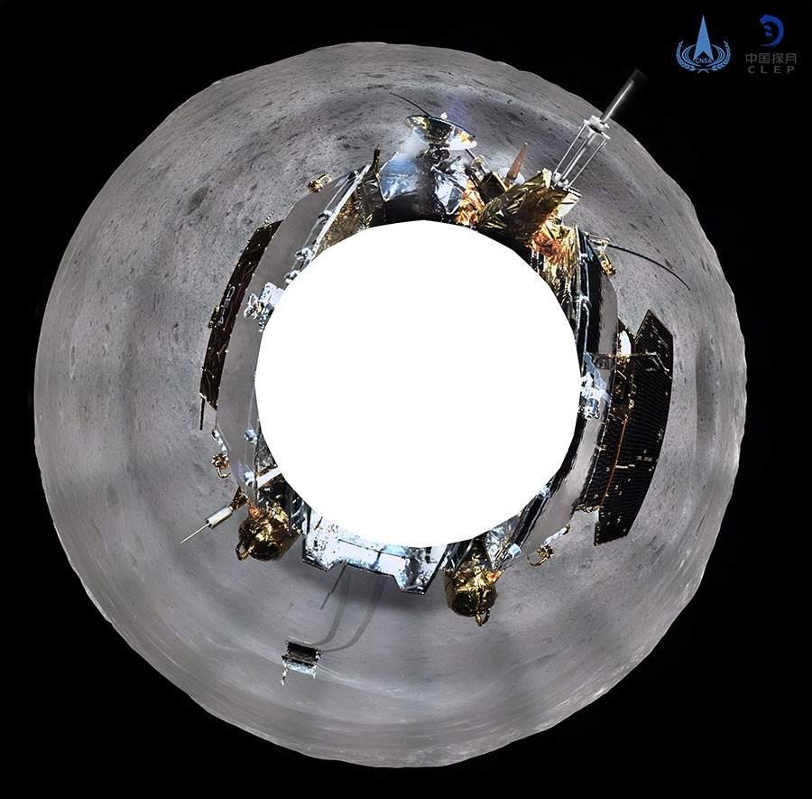 Muestran La Primera Imagen Panoramica De La Cara Oculta De La Luna 1, Planeta Incógnito
