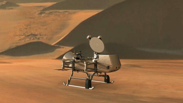 Un grupo de investigadores desarrolla Dragonfly, un vehículo para investigar la luna Titán de Saturno