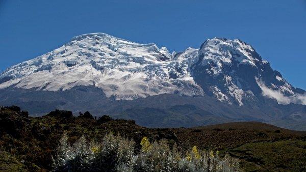 El cambio climático amenaza a los glaciares de Carihuairazo y Iliniza