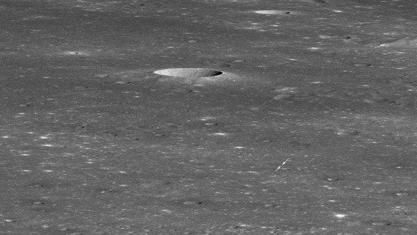 La NASA localiza la nave china Chang'e 4 sobre el suelo de la cara oculta de la Luna