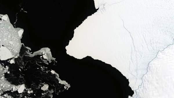 Cuenta atrás para un nuevo iceberg, del doble de tamaño que Nueva York 1
