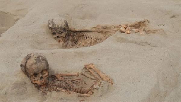 Sacrificio humano del s. XV en Perú