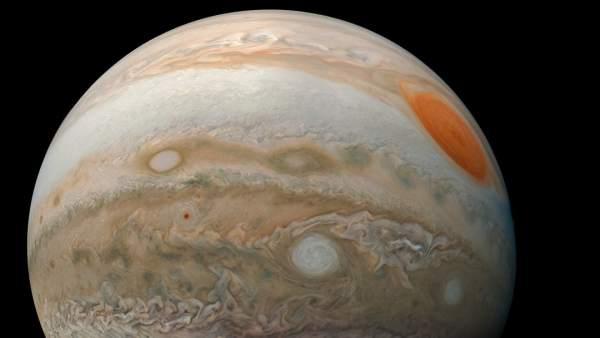 Júpiter desde la Sonda Juno