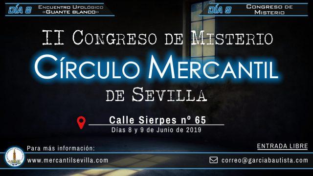 Este fin de semana tendrá lugar el II Congreso de Misterio Circulo Mercantil de Sevilla