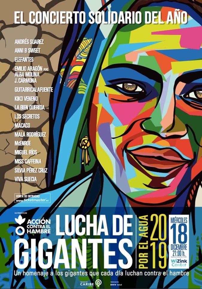 Se presenta el concierto Solidario 'Lucha de Gigantes' 2019 contra el hambre 2