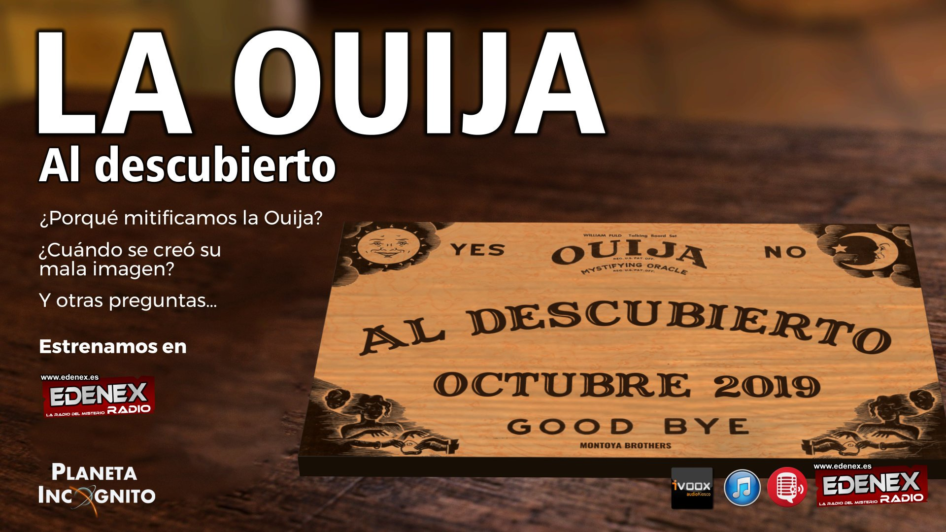 6x01 La Ouija Al Descubierto. Historia y Mito. Espiritismo e Iglesia 9
