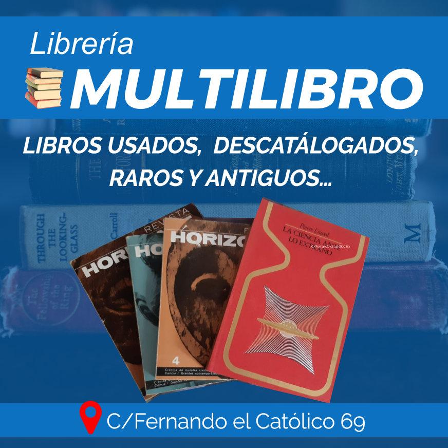 Librería Multilibro : Libro Antiguo, descatalogado, raros- Libros de Misterio- Nuestra Librería de confianza