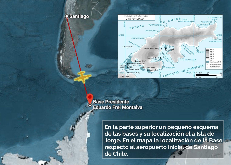 Avión Hércules desaparecido en el trayecto Chile - Antártida. 1