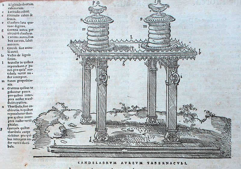 Biblia 1547   Candelabrum Aureum Tabernaculi, Planeta Incógnito