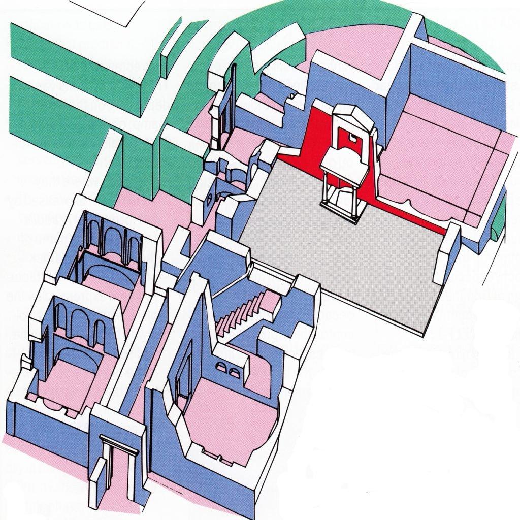plano necrópolis Vaticana Wikimedia
