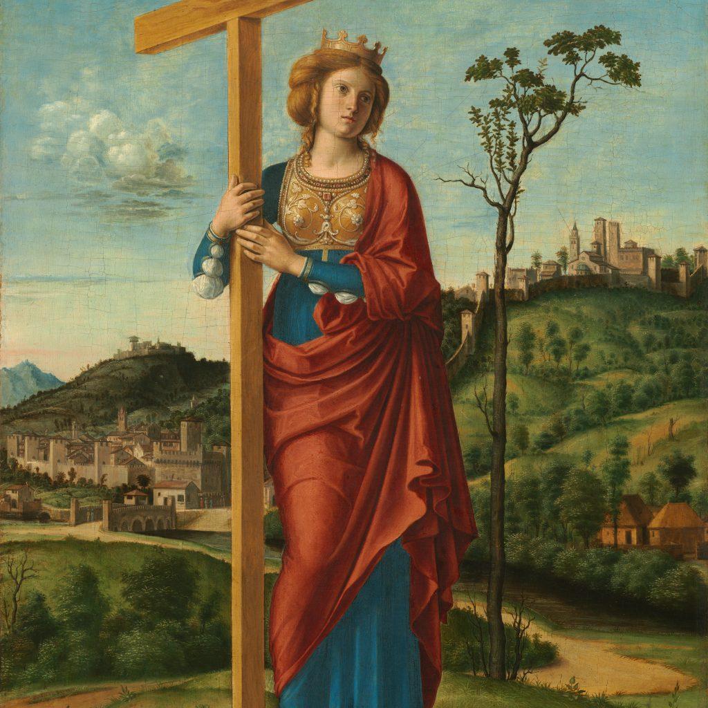 Helena de Constantinopla en la imaginación de Cima da Conegliano.(1495)