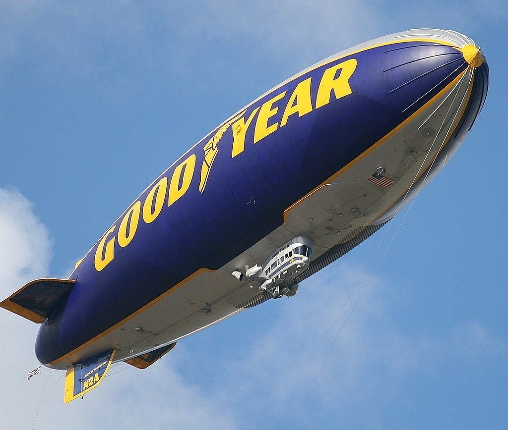 good year dirigible