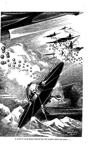 Juggernaut Jones, Commando short story by A. R. McKenzie interior artwork by Julian. AMAZING STORIES 1943